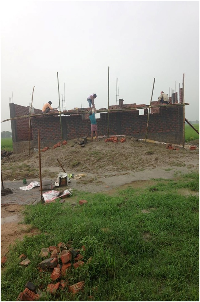Katihar Bihar Church Construction